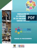 Manual de Procedimiento SIMONU 2014