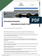 6Jubilee Resources Generational Iniquities