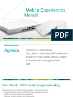 Cisco Meraki and CMX for Retail
