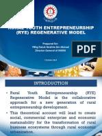 RYE Regenerative Model