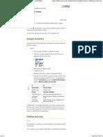 Calcular a Diferença Entre Duas Horas - Excel - Microsoft Office