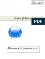 Recipes of Toworrow - Young European Citizens' Convention