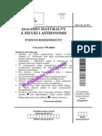 Matura 2007 - fizyka - poziom rozszerzony - odpowiedzi do arkusza maturalnego (www.studiowac.pl)