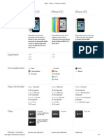 Apple - iPhone - Comparar Modelos