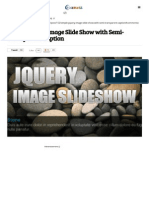 Simple JQuery Image Slide Show With Semi-Transparent Caption
