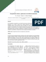 Encapsulacion Tecnicas y Aplicaciones