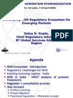 Developing NGN Regulatory Ecosystem for Emerging Markets