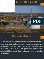 Cap 3 Plantas de Metanol Industrializacion Del Gas Natural