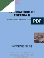 Informe Laboratorio de Energia II