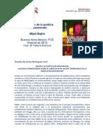 Review Bajtin-Poetica-Dostoievski CRS CeIR V8N1