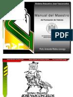 Manual Del Maestro de AV