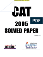 CAT 2005 CAT solved Paper set 1.pdf