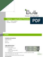Optima - Log Collect Procedure_EN