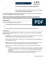 IFAB Additional Guidance - PGMOL