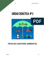 Curso de Auditoria Ambiental Unidad 2