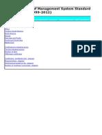 Database Iso 14001 Iso Survey