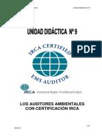 Curso de Auditoria Ambiental Unidad 9