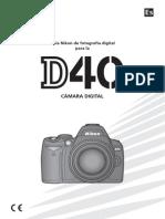 Manual Nikon D40