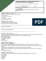 Prof. Naiana - Ficha de Exercícios - 5º Período - 2012 - Polivalente - 1º Bimestre - 2º Semestre