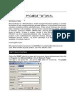 MICROSOFT+PROJECT+TUTORIAL