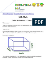 Kids Math_ Finding the Volume of a Cube or Box