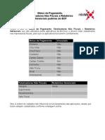 Meios de Pagamento e Totalizadores Do ECF