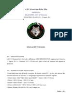 regolamento silaronda 2015