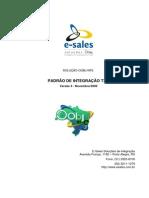 Documento de Integração TXT - Esales