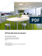 ZKTimeNet Manual de Usuario