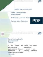 Teoria y Diseño Organizacional.pptx