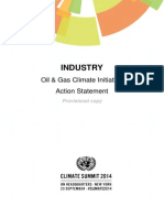 INDUSTRY Oil and Gas Climate Initiative