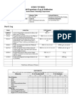 structured field experience log itec 7430  -breaux