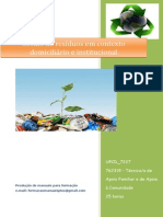 UFCD_7227_Gestão de Resíduos Em Contexto Domiciliário e Institucional_índice