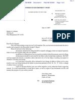 Lehman v. Fox Cable Networks Inc. et al - Document No. 3