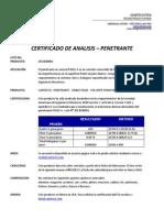 2013030001 - Penetrante - Cantesco - Espaã'Ol