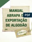 Manual Abrapa de Exportação de Algodão.pdf
