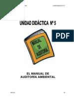 CURSO DE AUDITORIA AMBIENTAL 19011 Unidad 5