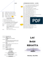 Brûlé Regatta 2015 - Program - FINAL