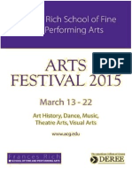 ACG Arts Festival 2015 Program