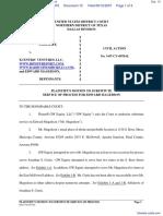 GW Equity LLC v. Xcentric Ventures LLC et al - Document No. 10