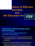 Effective Sexuality Educator