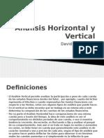Análisis Horizontal y Vertical