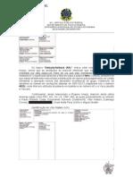 Relatório das mensagens de e-mail de Marcelo Odebrecht