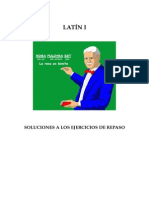 Solucion Ejercicios Repaso. Latin