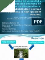 66 Distribucion de Velocidades y Rugosidad en Corrientes