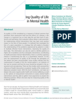 Ways to Measuring Quality of Life in Mental Health