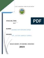 Los bloques económicos que pertenece el Perú y que existen en el mundo.docx