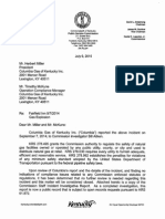 Letter and Final Report
