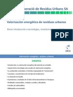 Valorización energética deresiduos urbanos