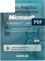 9.- Usar Los Programs de Windows Live